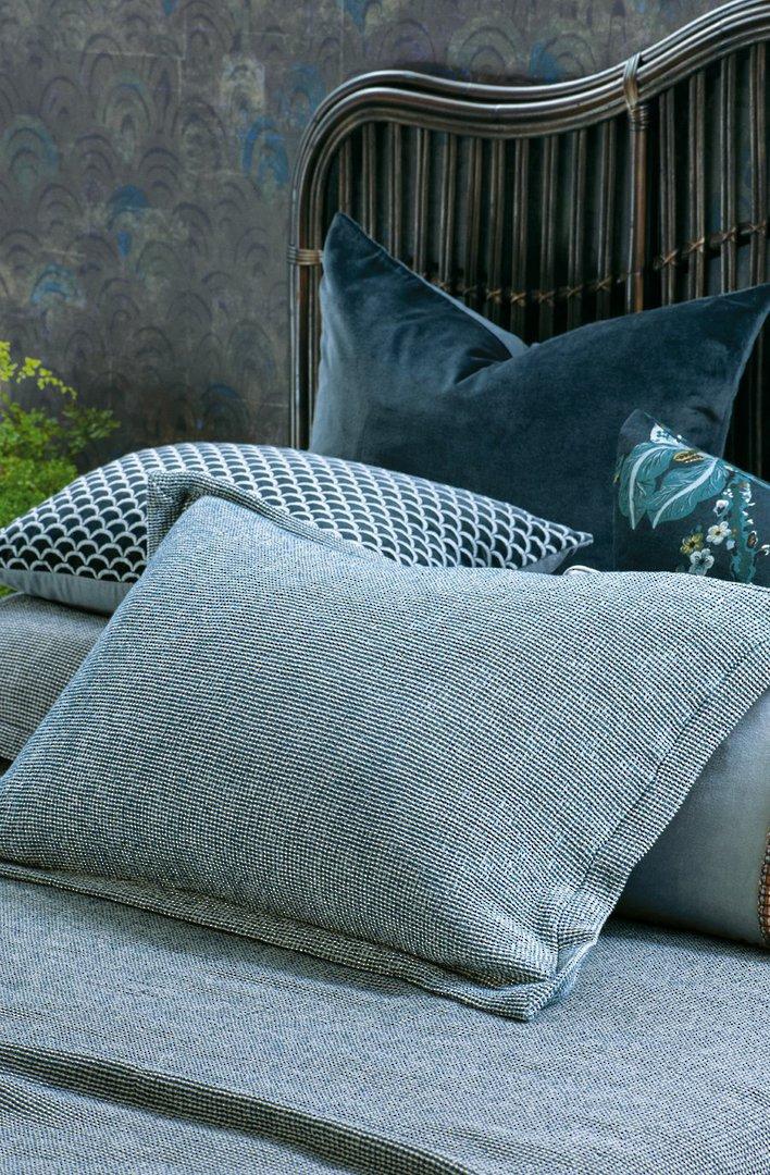 Bianca Lorenne - Sottobosco Bedspread / Pillowcase/Eurocase - Indigo image 3
