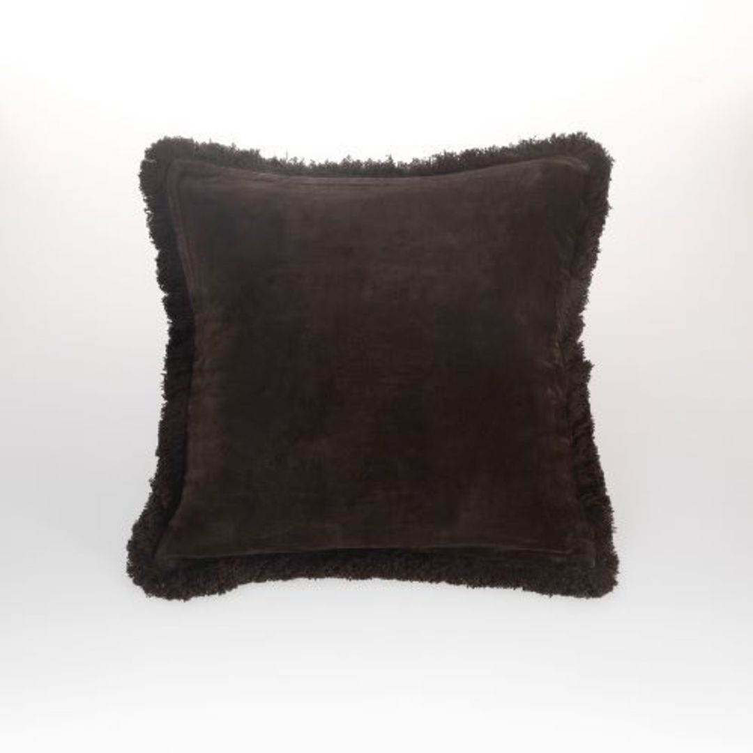MM Linen - Sabel Cushions - Coffee image 0