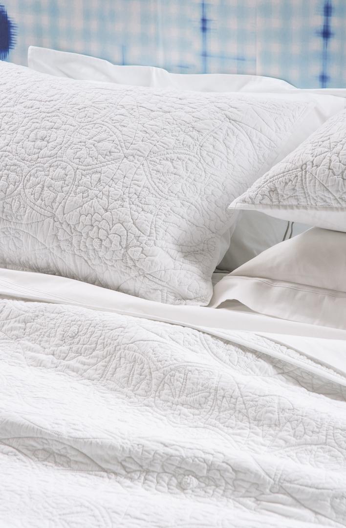 Bianca Lorenne - Amarento Pillowcase and Eurocase  - White image 0