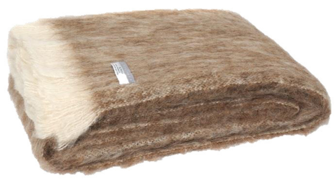 Alpaca Pumice - Brushed Throw by Master Weave image 0