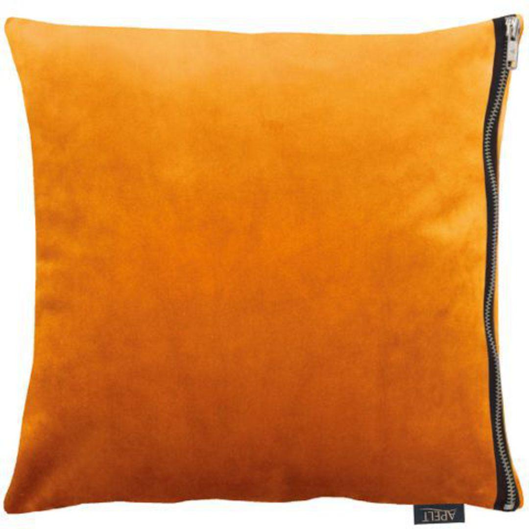 Importico - Apelt - Tassilo Velvet Cushion - Orange image 1
