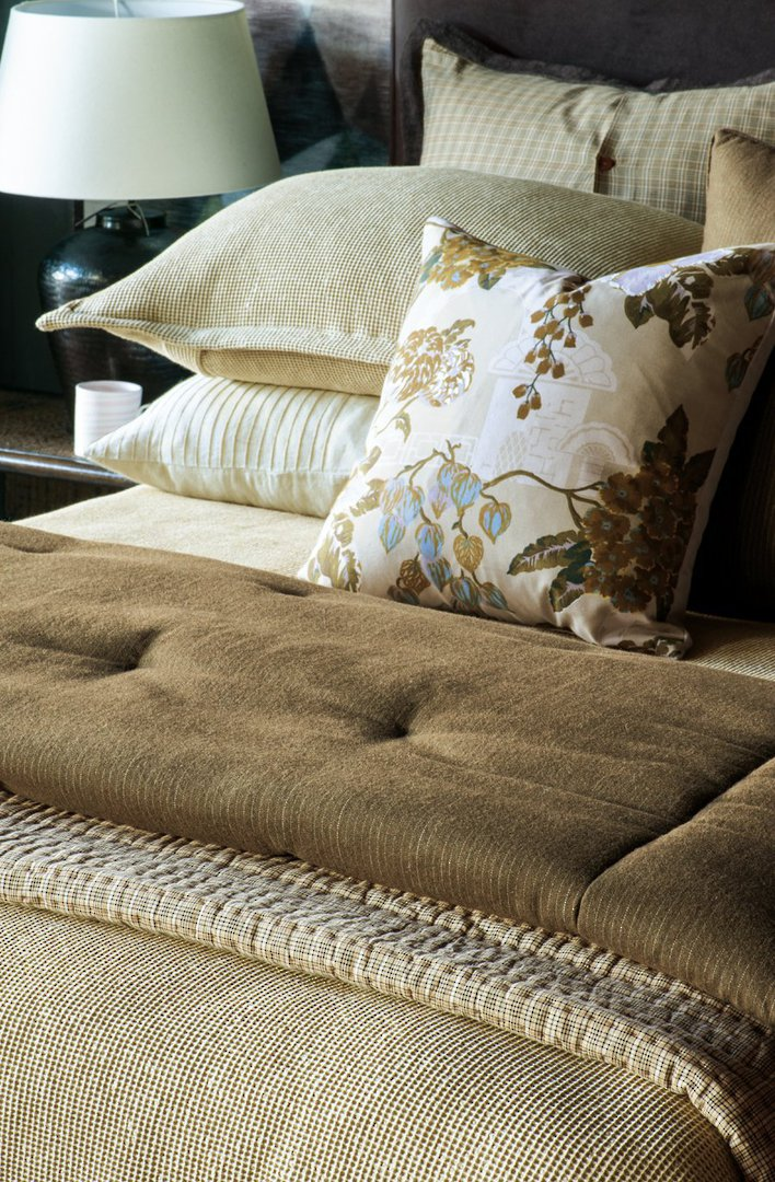 Bianca Lorenne - Michi - Comforter / Pillowcase/Eurocase/Cushion - Dark Hazel image 0