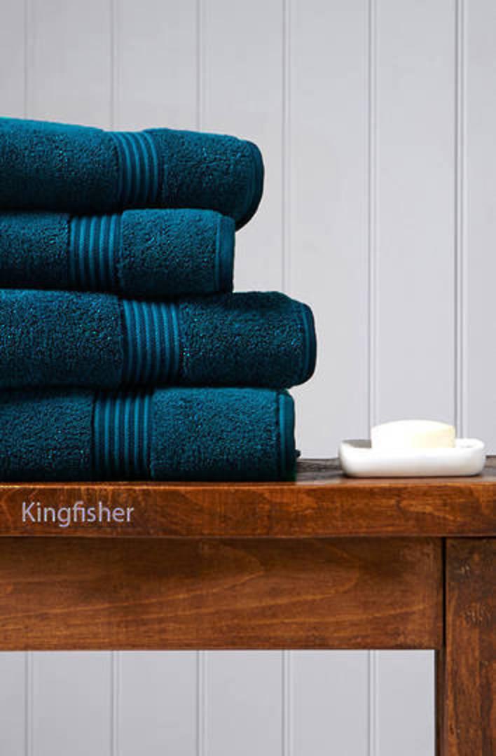 Seneca - Christy Supreme Hygro Towels, Hand Towels & Face Cloths - Kingfisher image 0
