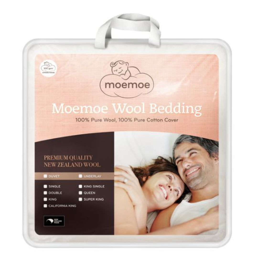 MoeMoe 100 Percent Wool Summer Weight Duvet Inner 300gsm image 0