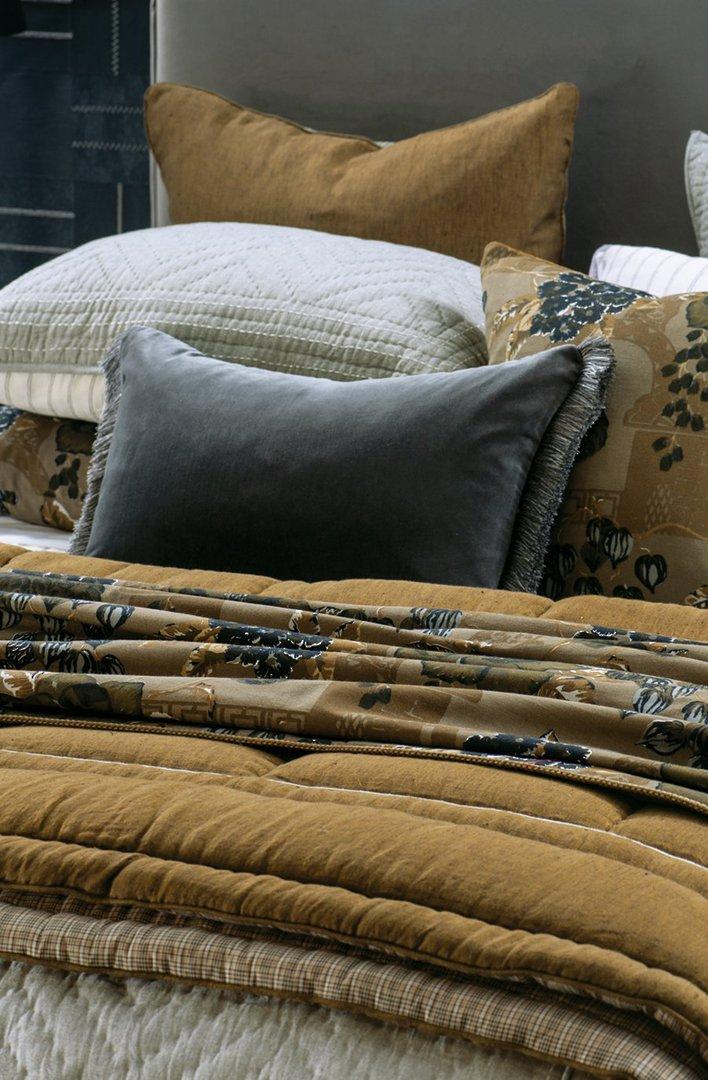 Bianca Lorenne - Luchesi Comforter/ Eurocase /Cushion - Dark Ochre image 2