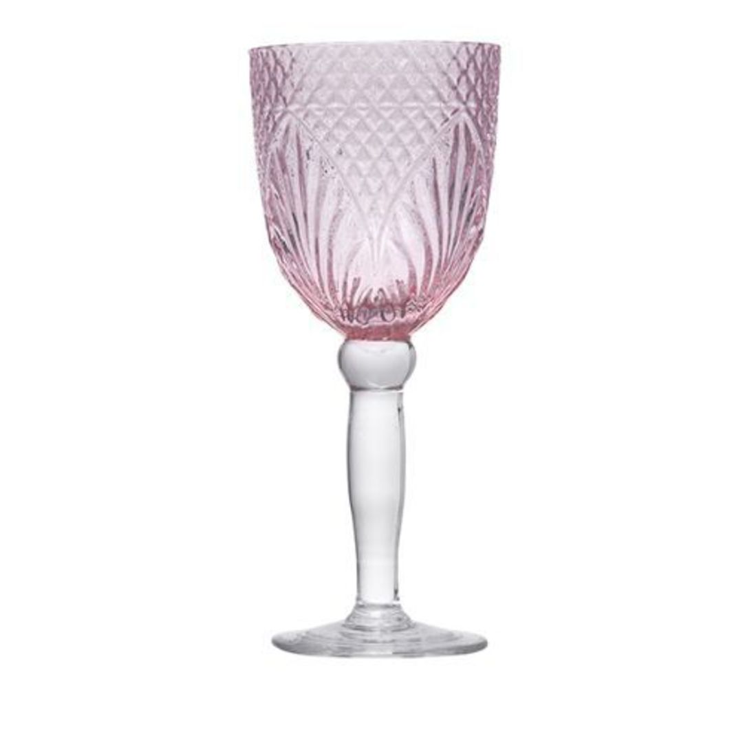 French Country - Vintage Pink Goblets image 0