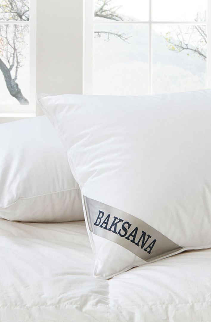 Baksana - Double Chamber Hungarian Goose Down Feather Pillow image 0