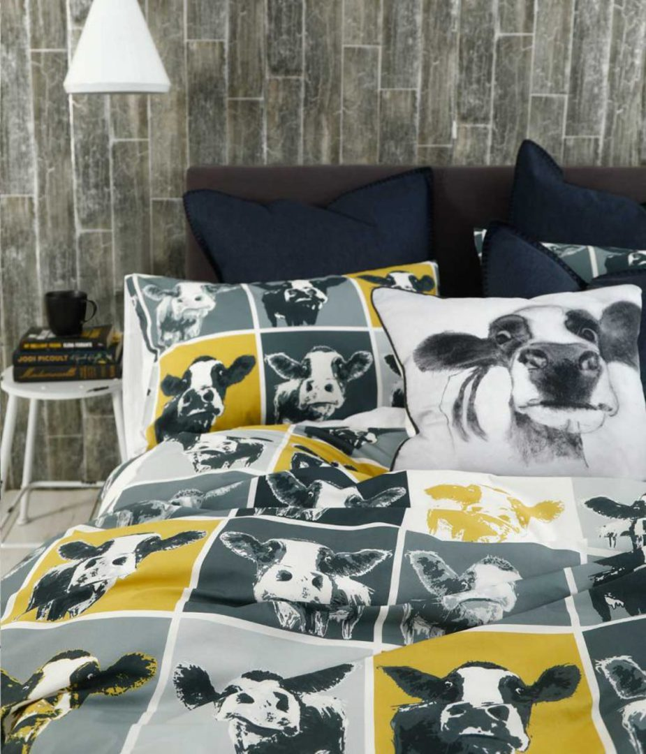MM Linen - Moo Duvet Set image 2