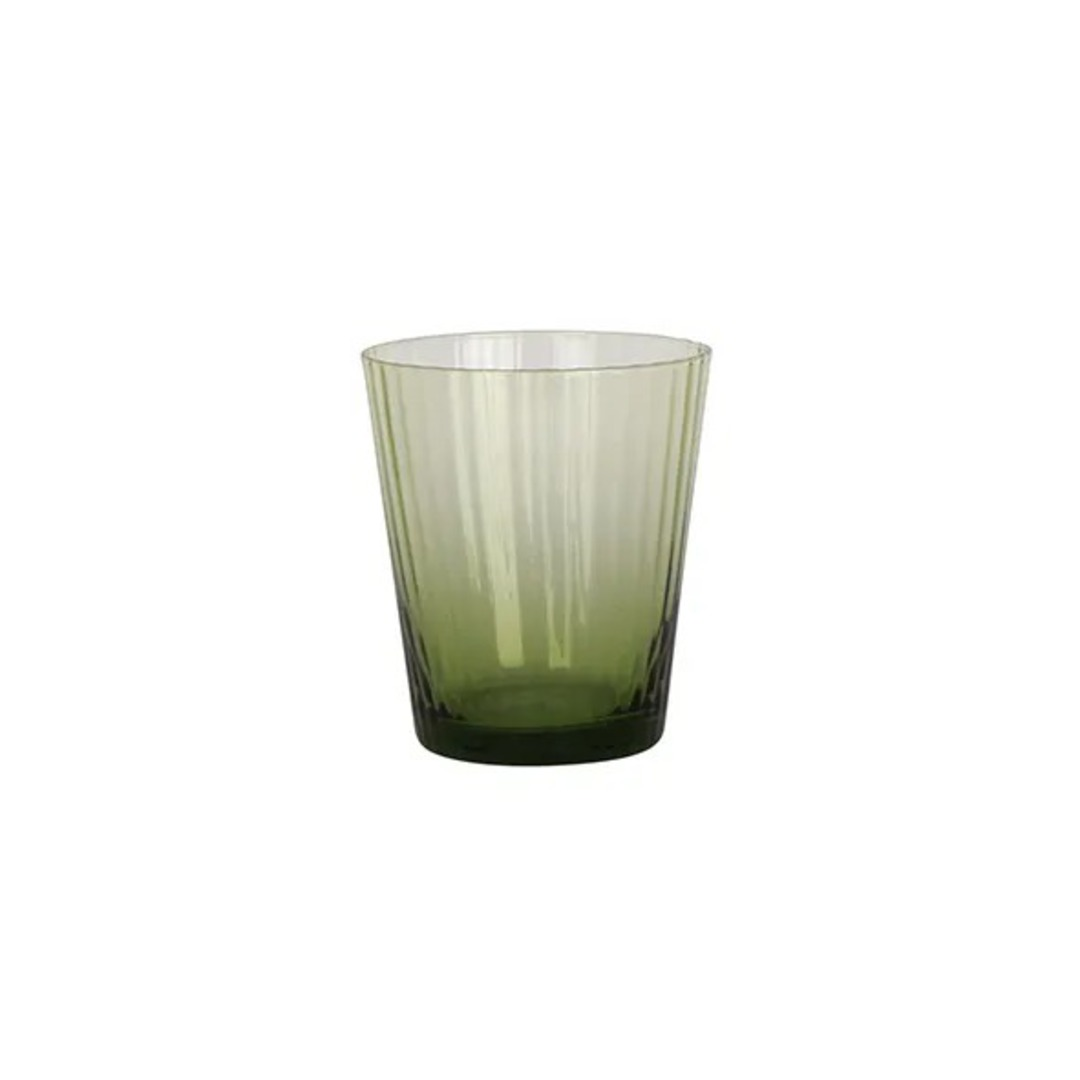 French Country - Talbot Tumbler Glass - Green image 0