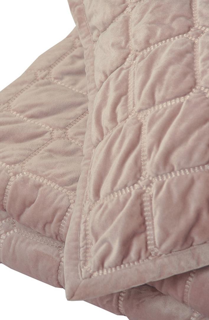 MM Linen - Meeka Rosewood Quilted Comforter Set / Eurocase Set image 1