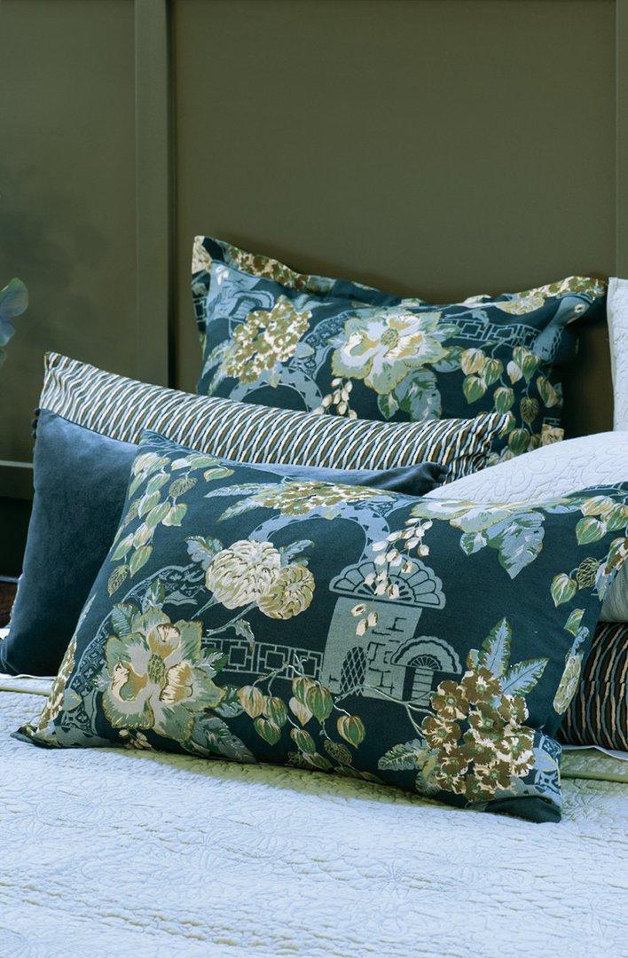 Bianca Lorenne - Chabana - Comforter / Pillowcase/Eurocase/Cushion - Prussian Blue image 1