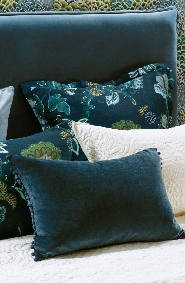 Bianca Lorenne - Mateo Comforter/ Eurocase /Cushion - Prussian Blue image 1