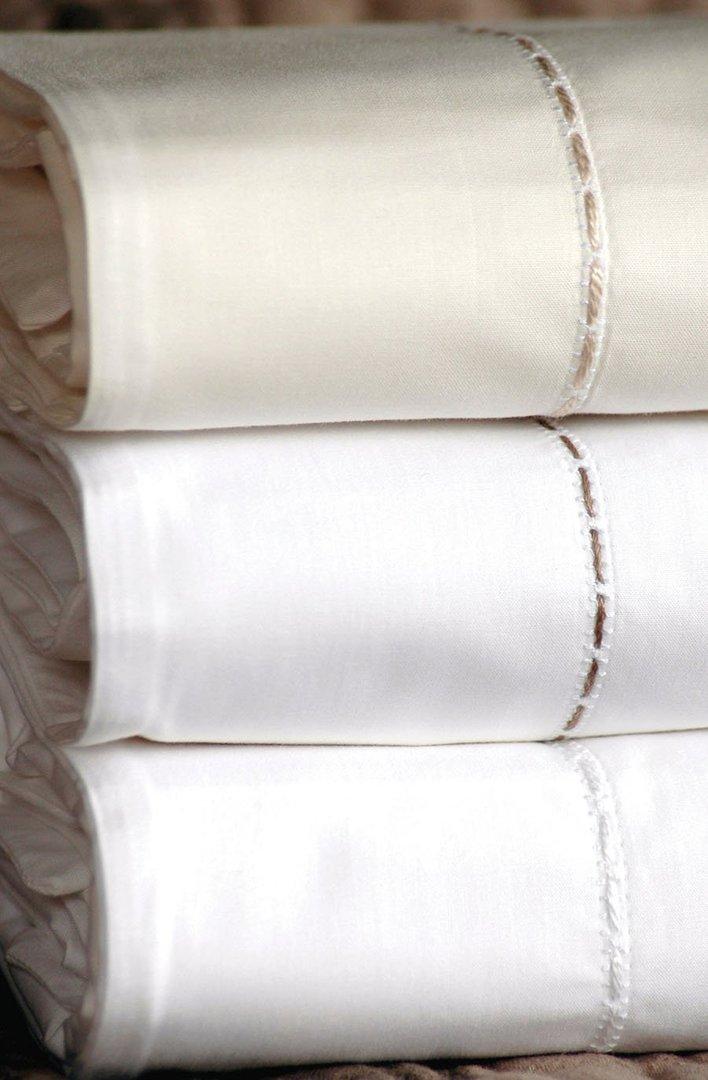 Bianca Lorenne - Milano White Sheets / Pillowcases/Eurocases image 2