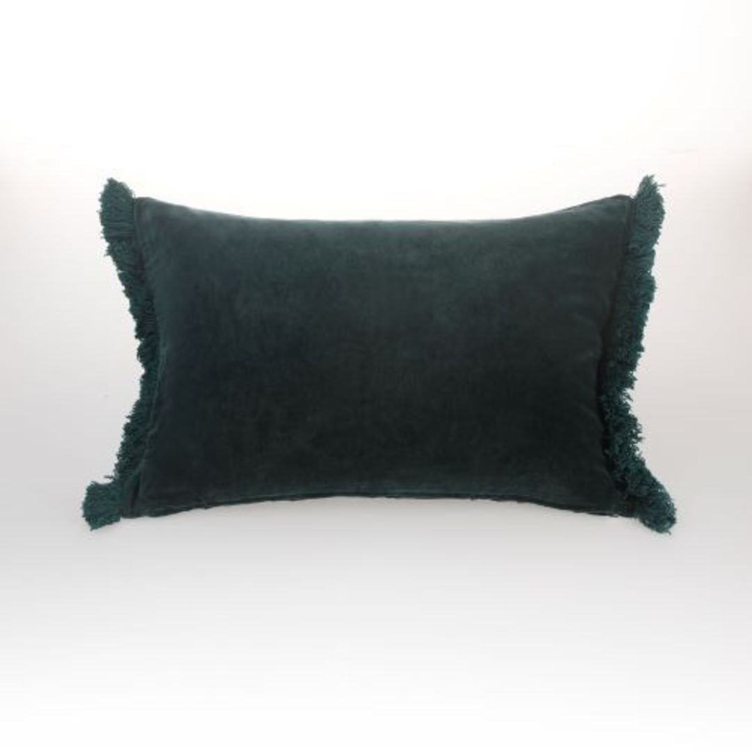 MM Linen - Sabel Cushions - Evergreen image 2