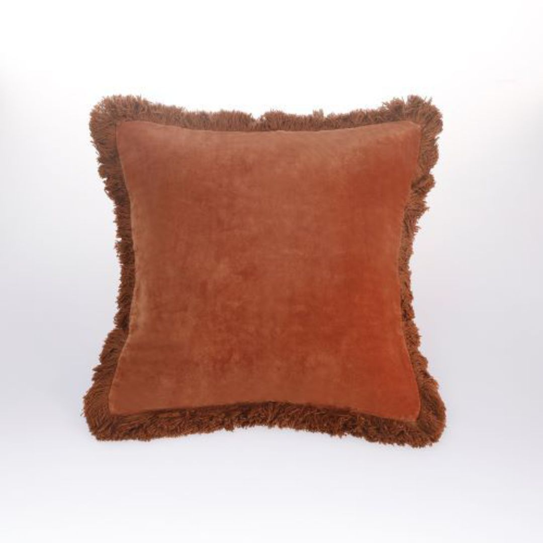 MM Linen - Sabel Cushions - Umber image 0