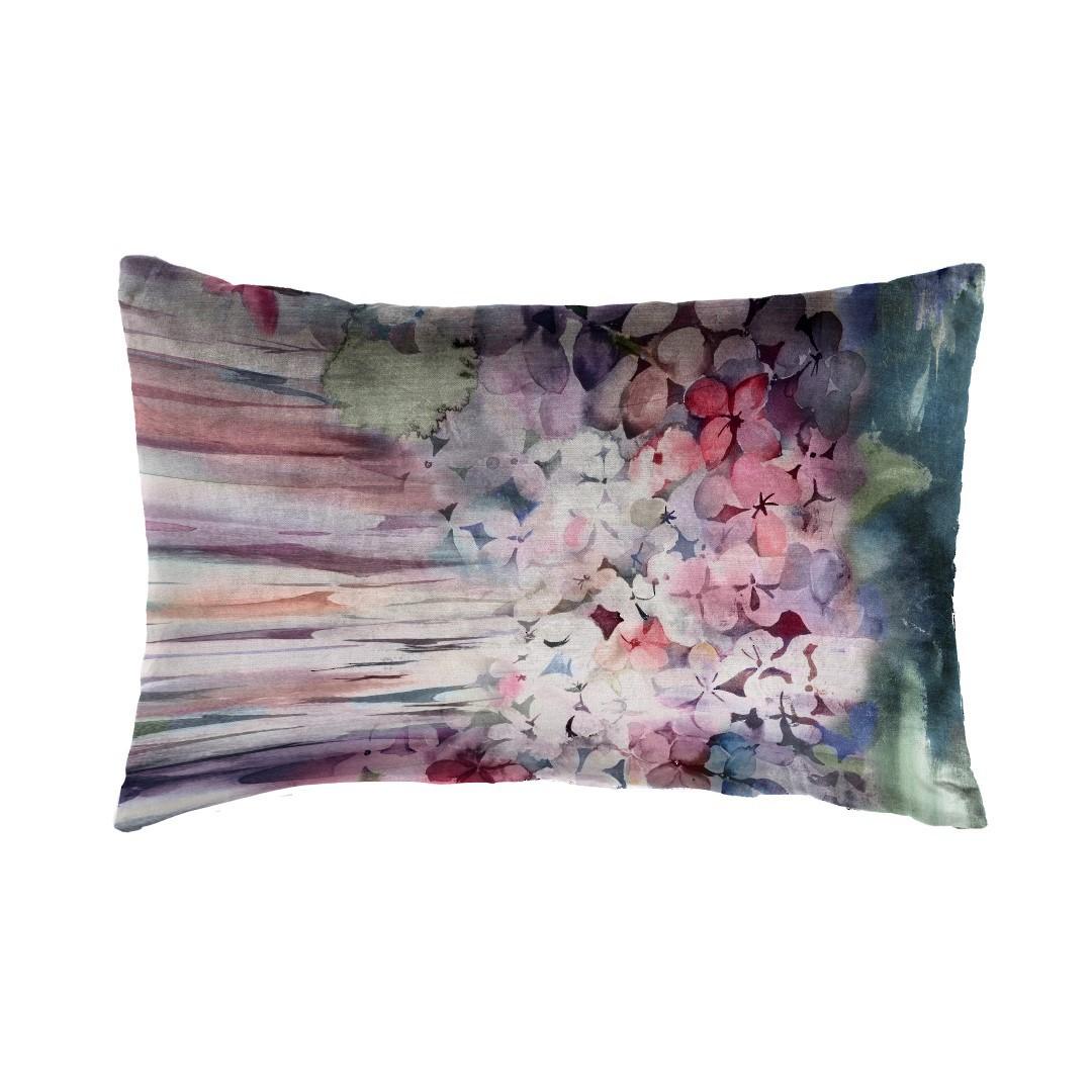 Voyage Maison - Sisa Velvet Cushion - Coral image 0