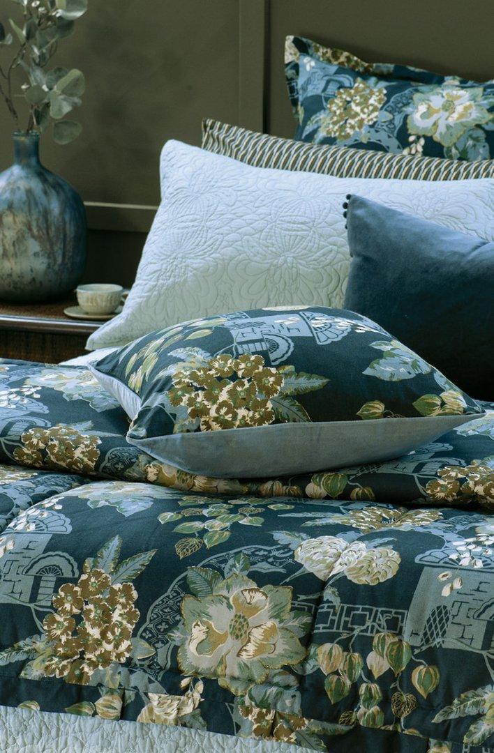 Bianca Lorenne - Chabana - Comforter / Pillowcase/Eurocase/Cushion - Prussian Blue image 0