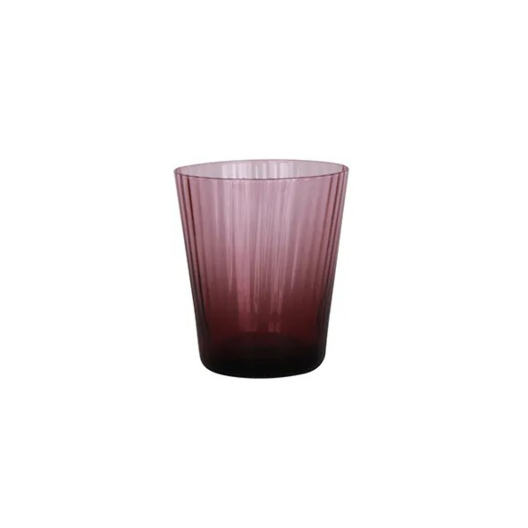 French Country - Talbot Tumbler Glass - Purple image 0