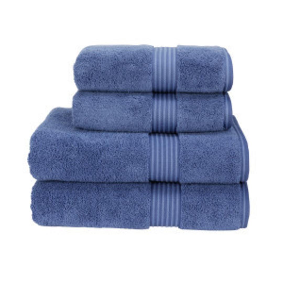 Seneca - Christy Supreme Hygro Towels, Hand Towels & Face Cloths - Deep Sea image 1