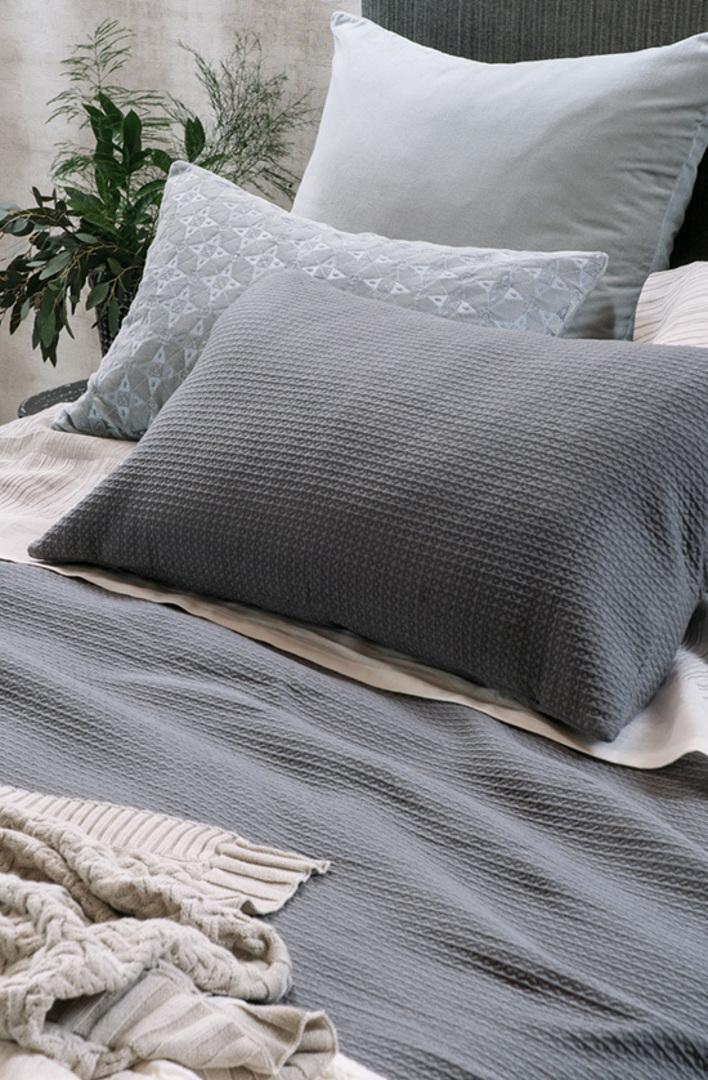 Bianca Lorenne - Valentina Slate Bedspread / Pillowcase/Eurocase image 1