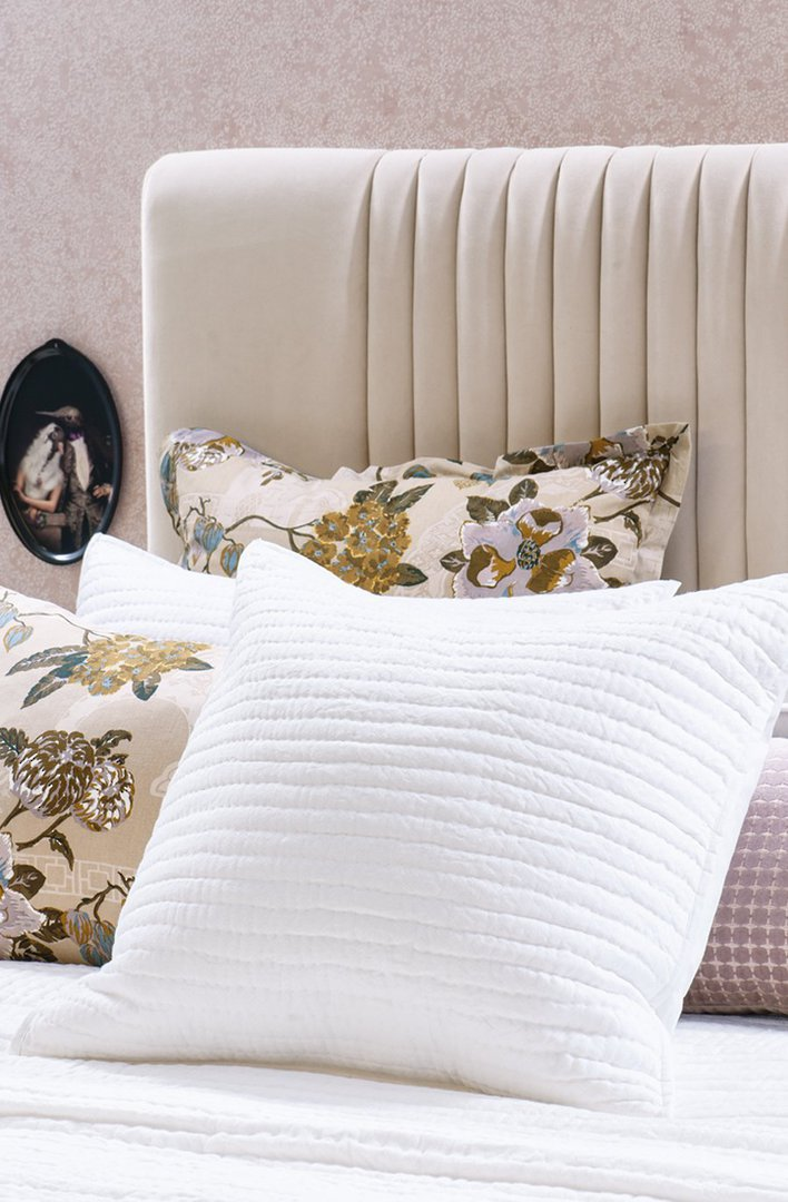 Bianca Lorenne - Pavage - Bedspread /Pillowcase and Eurocase Sold Separately - White image 3
