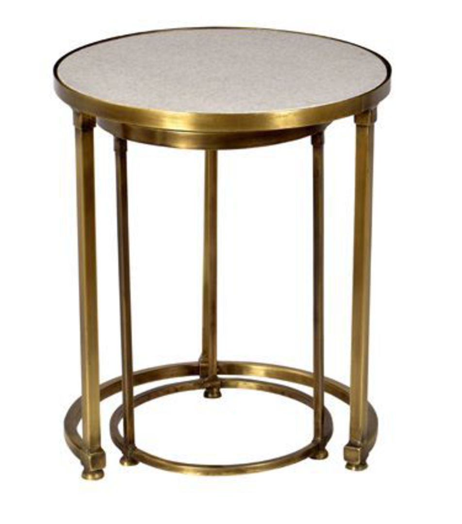 French Country - Round Nesting Tables image 1