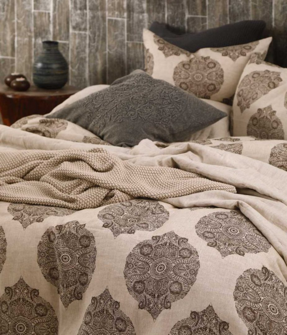 MM Linen - Henna Duvet Set image 1