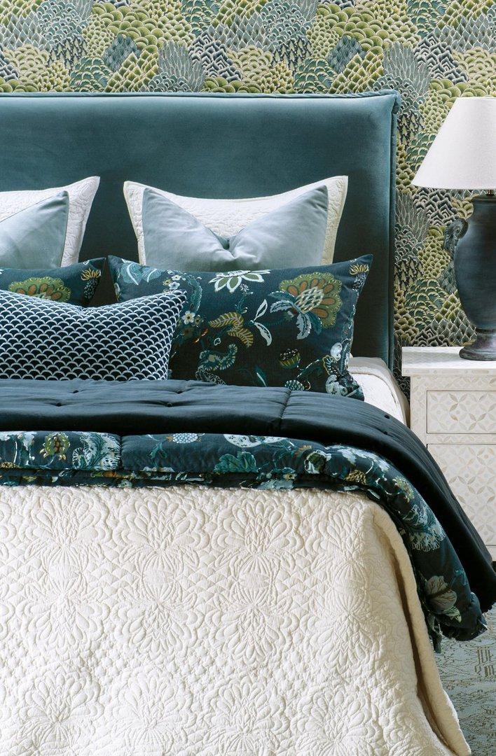 Bianca Lorenne - Fontanella Bedspread / Pillowcase/Eurocase - Ivory image 1