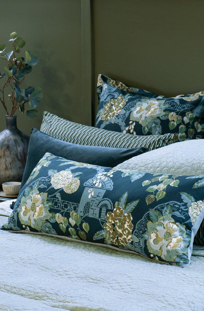Bianca Lorenne - Chabana - Comforter / Pillowcase/Eurocase/Cushion - Prussian Blue image 3