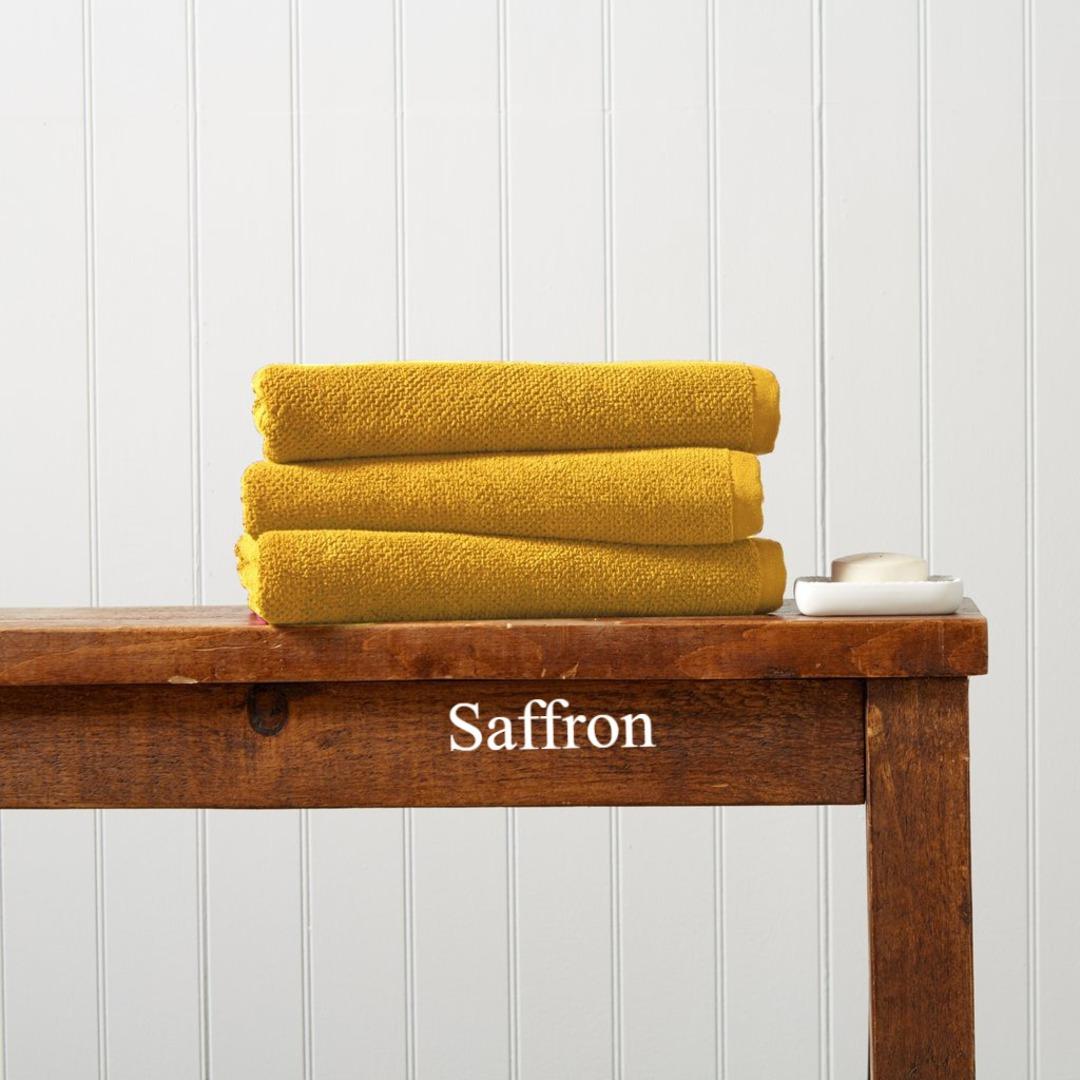 Seneca - Christy Brixton Towels, Hand Towels & Bath Mats - Saffron image 0