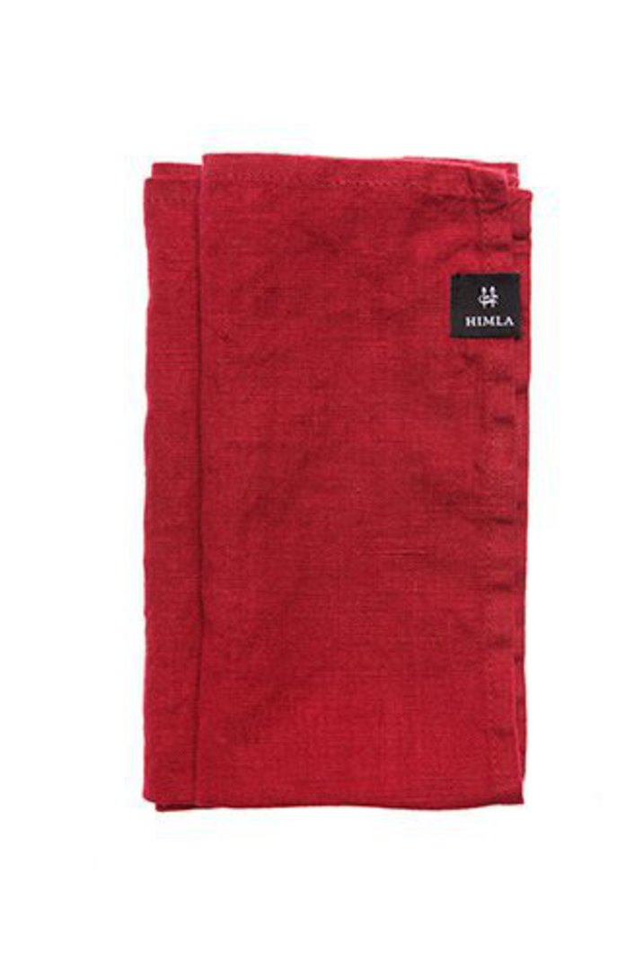 Importico - Himla Table Runner/Tablecloths - True Red image 1