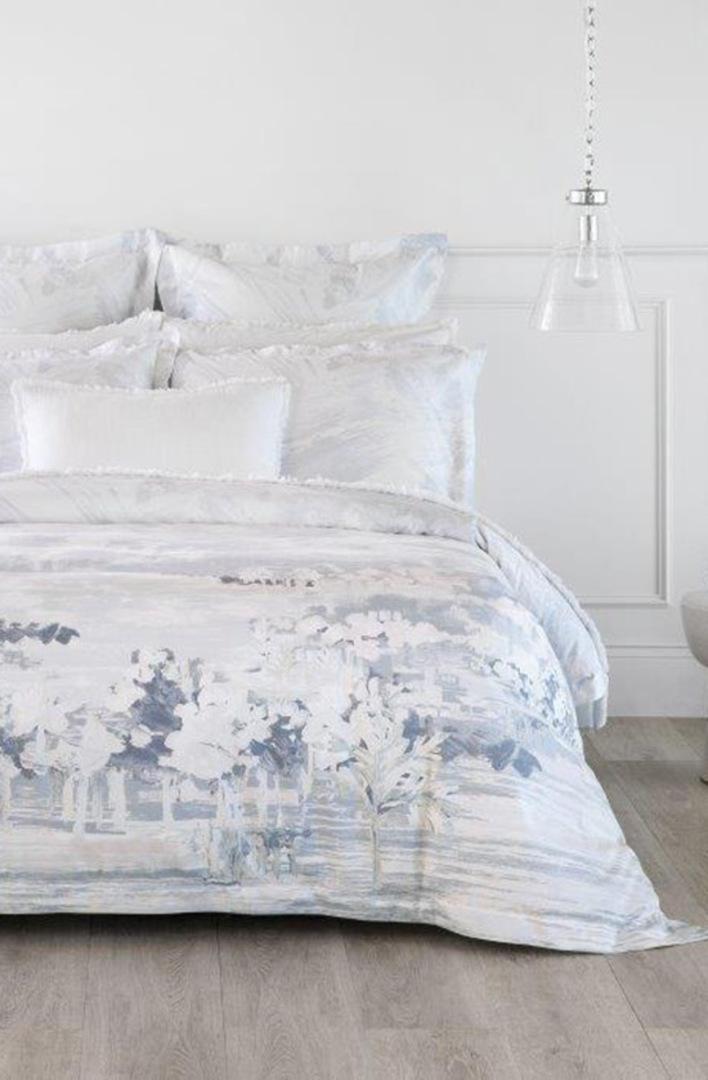 Sheridan - Elsworth Mirage Blue Tailored Duvet Cover image 0