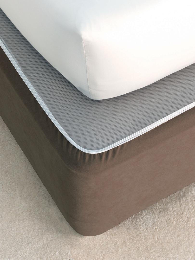 Linen House - Savona Plain Suede Bedwrap - Chocolate image 0