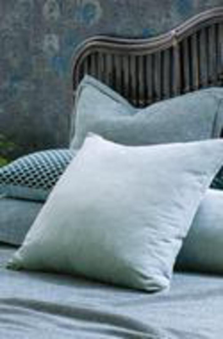 Bianca Lorenne - Luchesi Comforter/ Eurocase /Cushion - Smoke Blue image 2