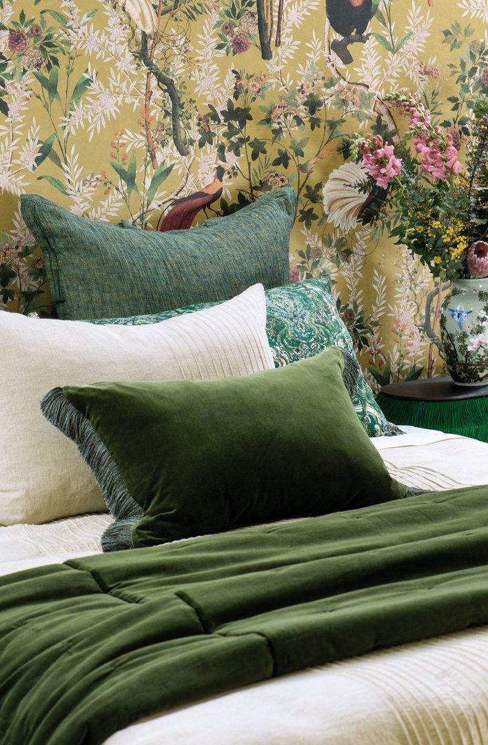Bianca Lorenne - Tramonto - Comforter/Eurocase/Cushion - Green image 0