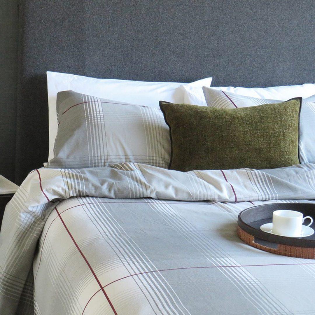 Seneca - Declan Plaid Flannelette Duvet Cover image 0