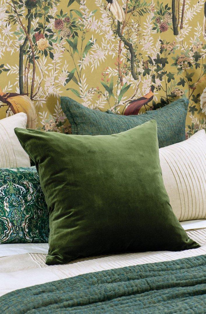 Bianca Lorenne - Tramonto - Comforter/Eurocase/Cushion - Green image 2