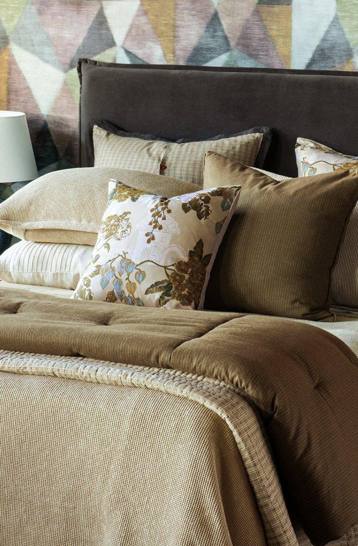 Bianca Lorenne - Sottobosco Bedspread / Pillowcases / Eurocases  Sold separately - Light Hazel image 1