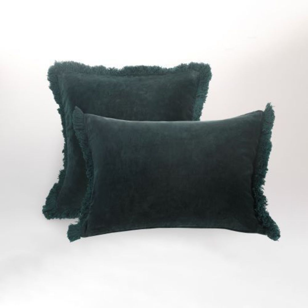 MM Linen - Sabel Cushions - Evergreen image 1