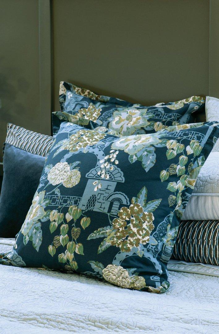 Bianca Lorenne - Chabana - Comforter / Pillowcase/Eurocase/Cushion - Prussian Blue image 2