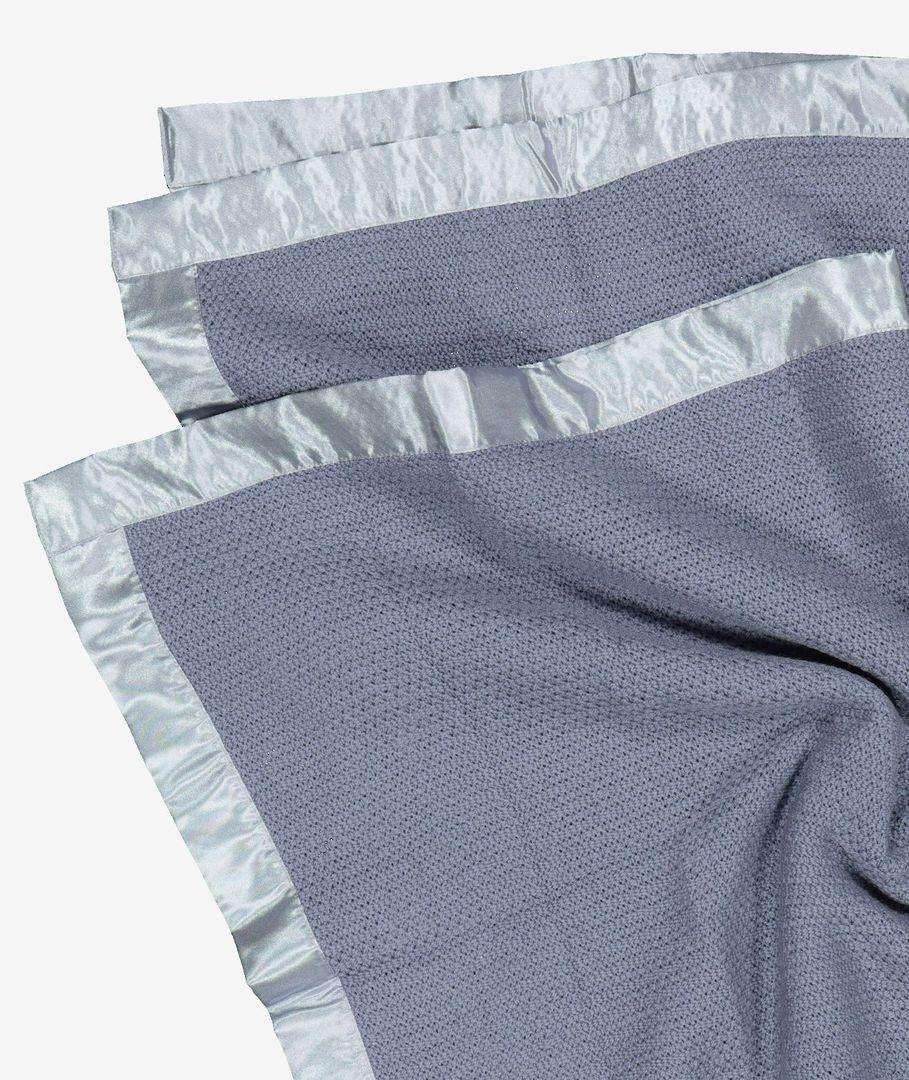 Swanndri  - Thermalweave Cot  Blanket - Grey image 1
