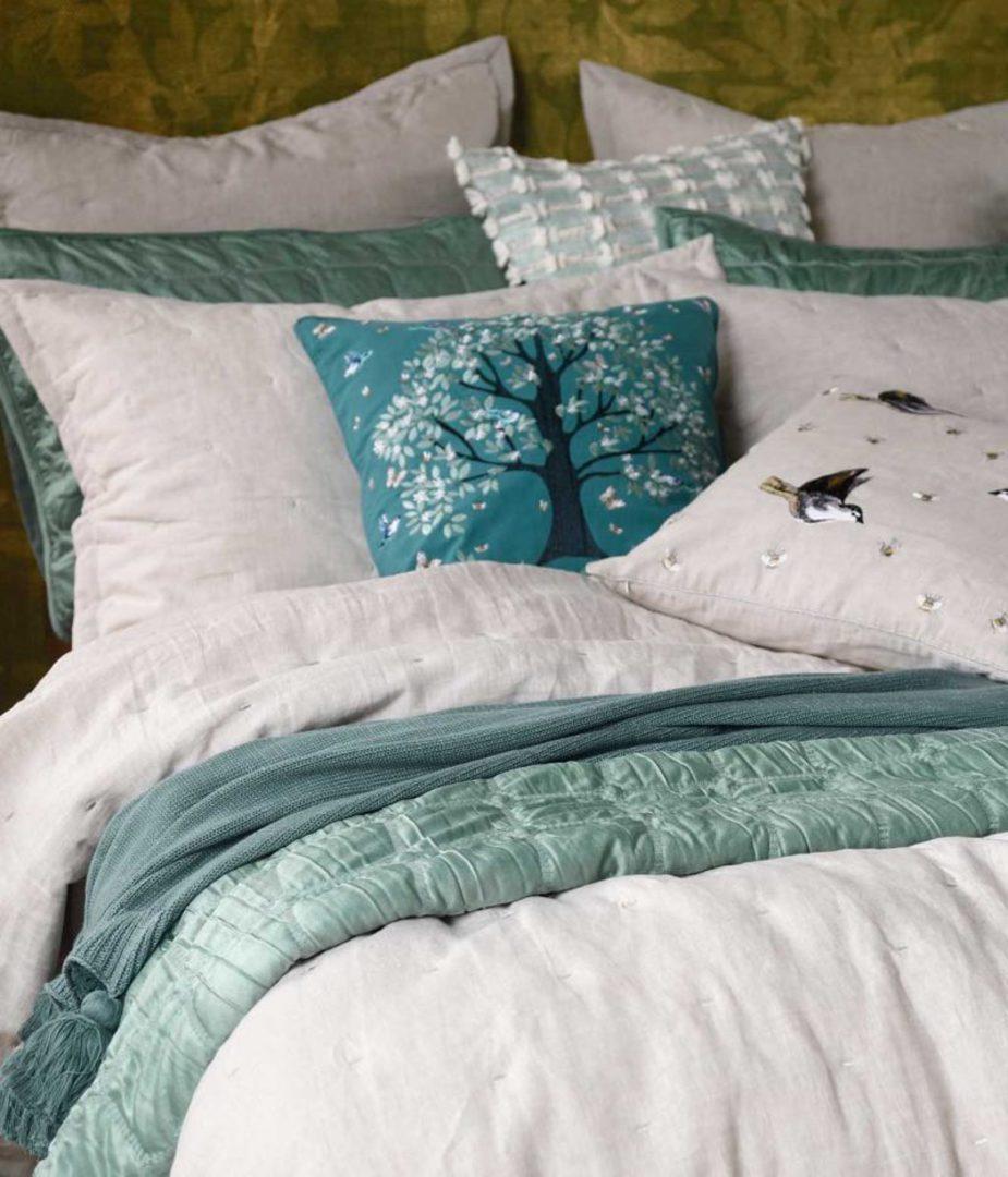 MM Linen - Meeka  Laurel Quilted  Comforter Set - Large image 0