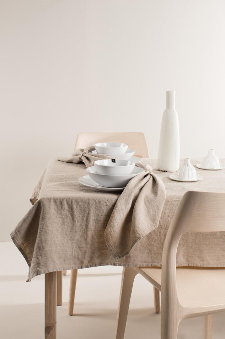 Importico - Himla Napkins/Table Runner/Tablecloths - Natural image 0