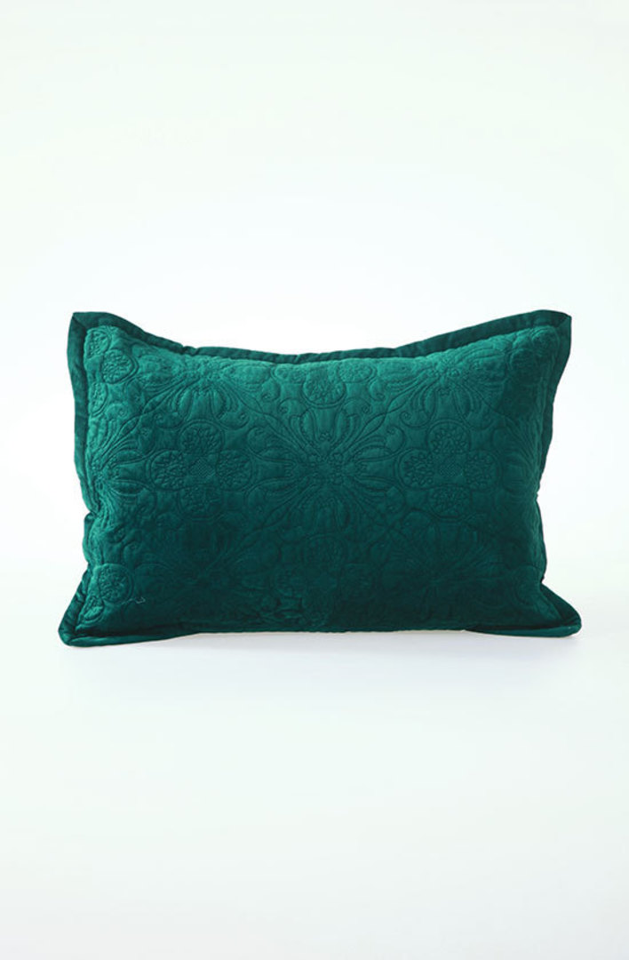 MM Linen - Naja Deep Teal Cushions image 1