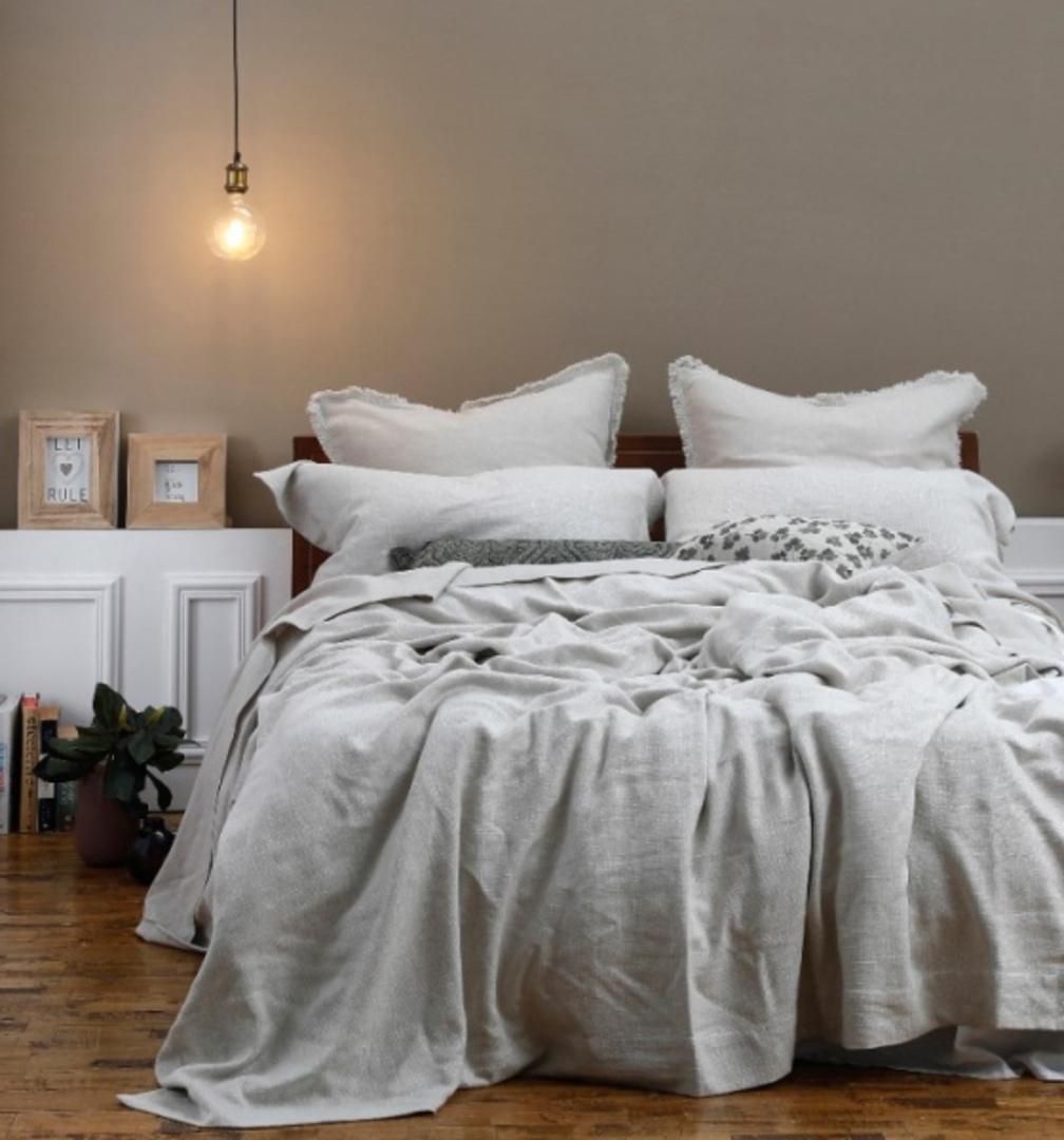 MM Linen - Crozet Bedspread Set - Natural image 2