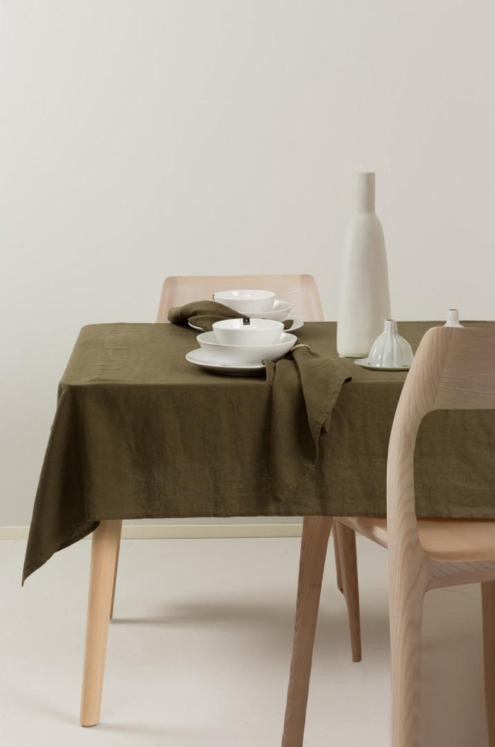 Importico - Himla Napkins/Table Runner/Tablecloths - Khaki image 0