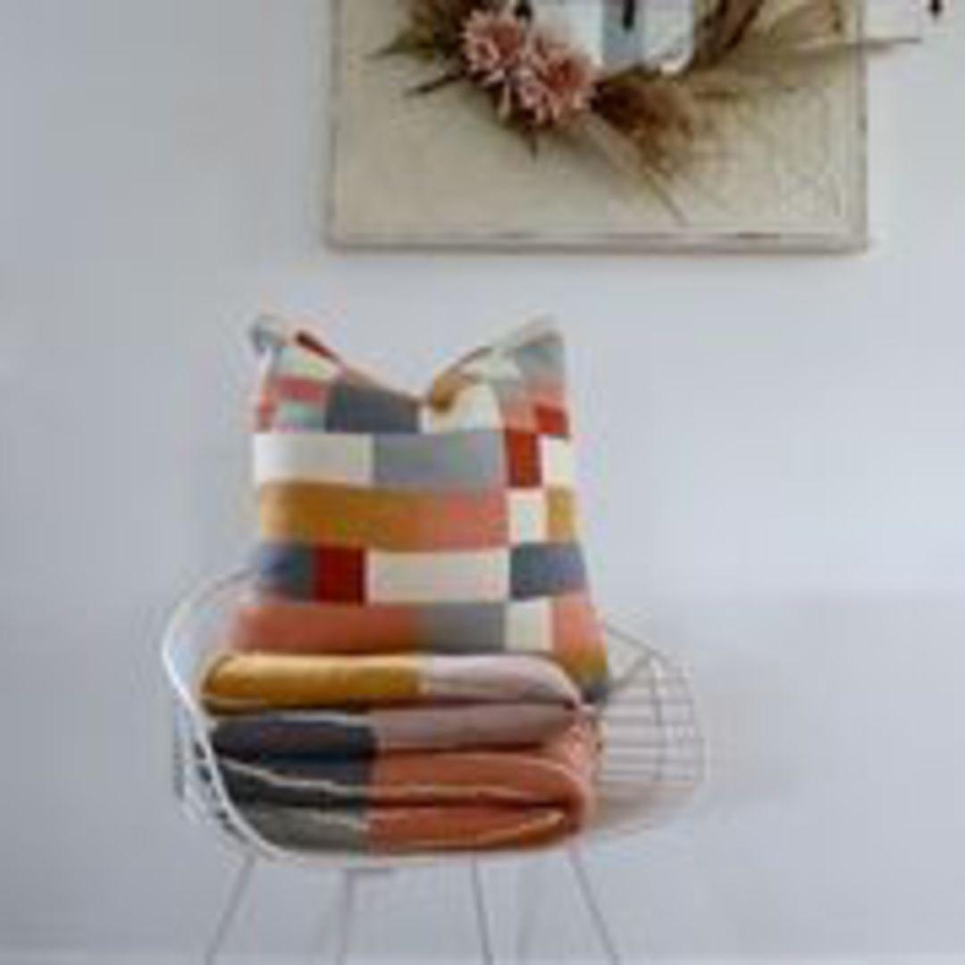 Importico -Voyage Maison - Folklore - Ivan Knitted Cushion image 0