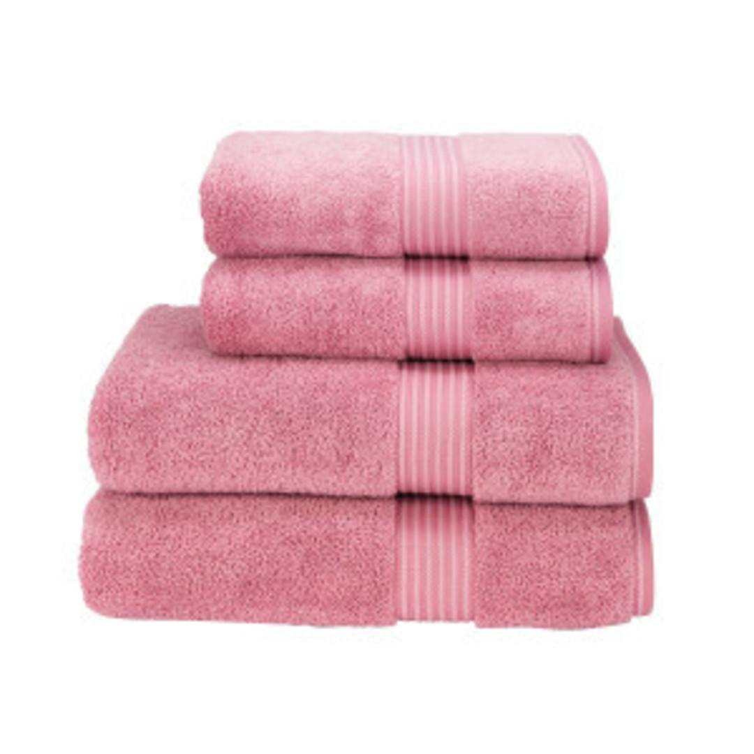 Seneca - Christy Supreme Hygro Towels, Hand Towels & Face Cloths - Blush image 0