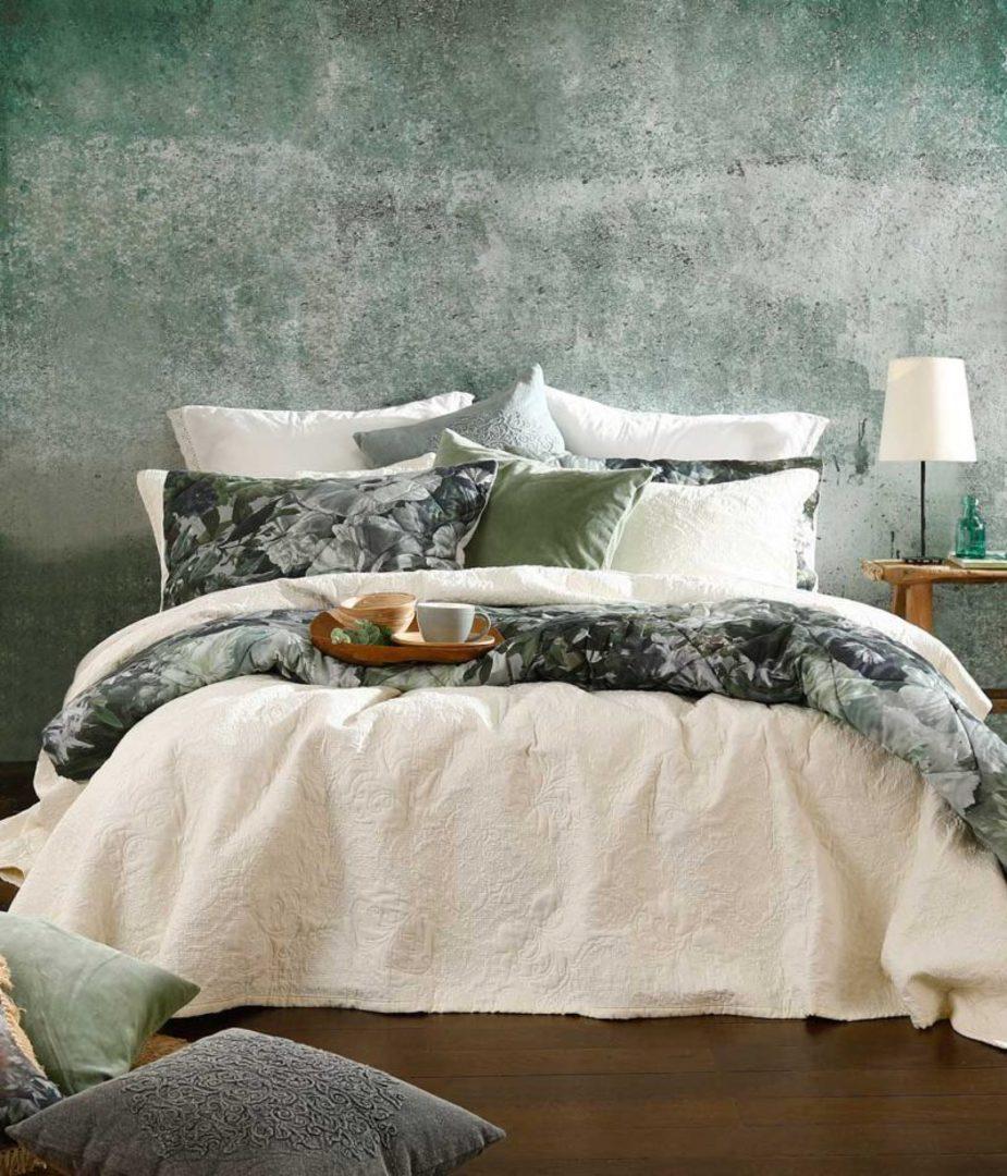 MM Linen - Ancara Bedspread Set - Ivory image 0