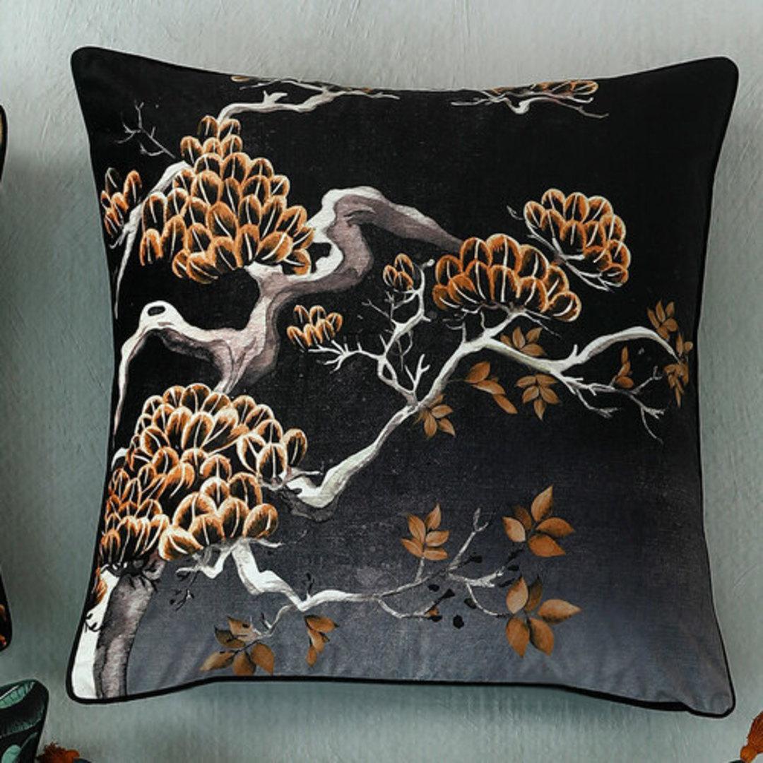 MM Linen - Avalana -  Orient Midnight Cushion 60cm x 60cm image 0